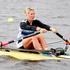 Emma Twigg - single sculls rowing. Photo / Christine Cornege