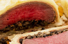 Venison loin wellington. Photo / Babiche Martens