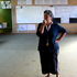 Margaret Hoani stands in one of the empty class rooms at Helena Bay school. Photo / Steven McNicholl