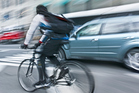 Road rules for motorists advise them to check for cyclists before opening a car door, whether on the left or right. Photo / Thinkstock