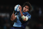 Steven Luatua was one of the few Blues players to impress this season. Photo / Getty Images