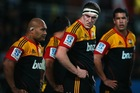 The Chiefs' reliable lineout was anything but during their loss to the Crusaders. Photo / Getty Images
