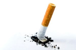 DNA was found on a discarded cigarette butt. Photo / Thinkstock