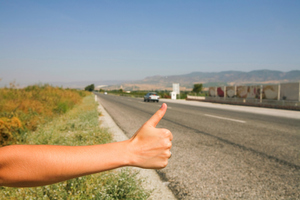 Tauranga Police Senior Sergeant Glen Saunders says that hitchhiking does carry an element of risk. Photo / Thinkstock