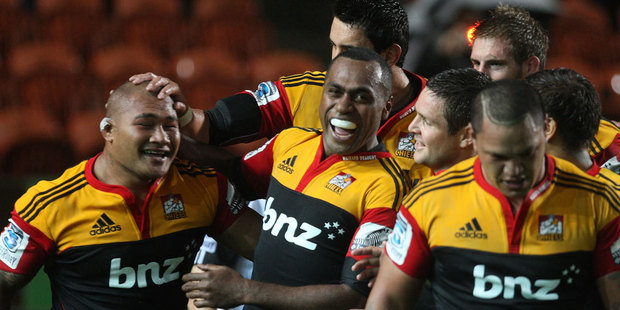 The Chiefs secured the New Zealand conference in round 16 and last weekend's results guaranteed them a top-two finish, a first-round bye and a home semi-final. Photo / Getty Images.