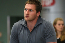 Kieran Read's rib injury isn't considered too serious by the Crusaders but he is likely to be rested for the final round-robin match against the Force in Christchurch. Photo / Getty Images.