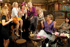 A memorable scene from the 50 years of Corrie: Leanne Battersby's (Jane Danson) hen do. Photo / Supplied