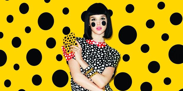 Louis Vuitton's collaboration with Yayoi Kusama. Photo / Supplied