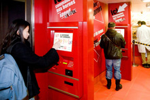 The touch-screen kiosks, which have proven successful at KFC outlets in France, will be introduced to New Zealand within a year. The first will be on the North Shore. Photo / Supplied 