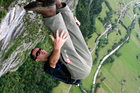 Alan McCandlish was killed while base jumping in a similar spot in Switzerland. Photo / Supplied, Facebook