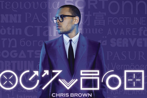 Album cover for Fortune by Chris Brown. Photo / Supplied