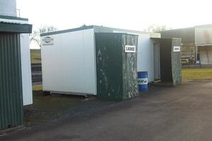 Councillor George Wood took photos of what he called 'poor facilities' at the race track. Photo / Supplied