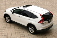 The new Honda CRV sits lower to the ground than previous models, giving a more car-like drive. Photo / Supplied