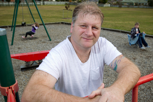 Chris Hardy had two free court-funded sessions to try to save his marriage. Picture /Greg Bowker