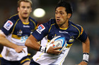 Christian Lealiifano of the Brumbies in action. Photo / Getty Images