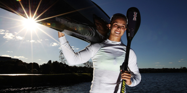 Kiwi Lisa Carrington is a genuine gold medal contender.  Photo / Getty Images