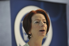 The conservative NSW Government blames Prime Minister Julia Gillard for Brisbane being picked ahead of Sydney. Photo / AP.