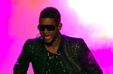 Usher. Photo / AP 