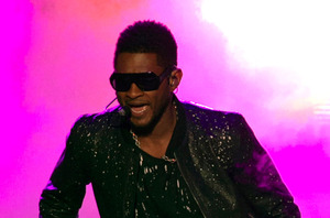 Usher. Photo / AP