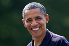 President Barack Obama, who's brother George has been found by a documentary crew in a slum in Kenya. Photo / AP
