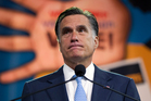 Republican presidential candidate Mitt Romney during a speech to the NAACP annual convention. Photo / AP