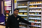 Retailer Ritesh Patel says the new tobacco regulations would make 'a little bit' of a difference to tobacco sales, but not much. Photo / APNZ