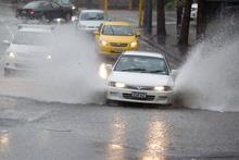 Heavy rain caused flash flooding in Auckland last week. Photo / Richard Robinson