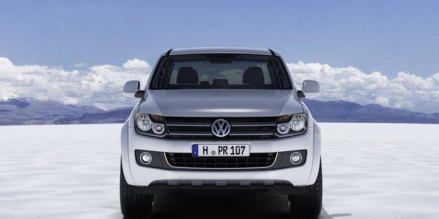 Volkswagen's Amarok. Photo / Supplied