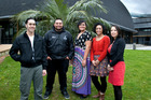 Last year's winners were (from left)  Mark Dewes, Brandon Jackson, Joyce Toleafoa, Nadeen Papali'i and Jessica Papali'i-Curtin. Photo / Supplied