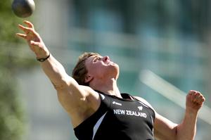 Jacko Gill. Photo / NZ Herald