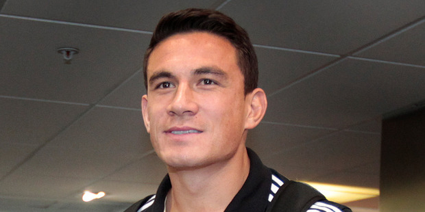 TVNZ's Peter Williams had a shot at former All Black Sonny Bill Williams online. Photo / Sarah Ivey