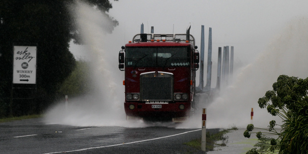 The ANZ Truckometer monitors traffic flow as an indicator of economic activity. Photo / APN