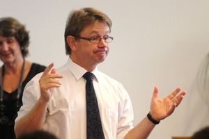 Dr Russell Wills, Commissioner for Children. File photo / Warren Buckland