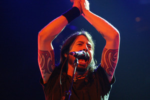 Foo Fighters frontman and former drummer for Nirvana, Dave Grohl. Photo / Supplied
