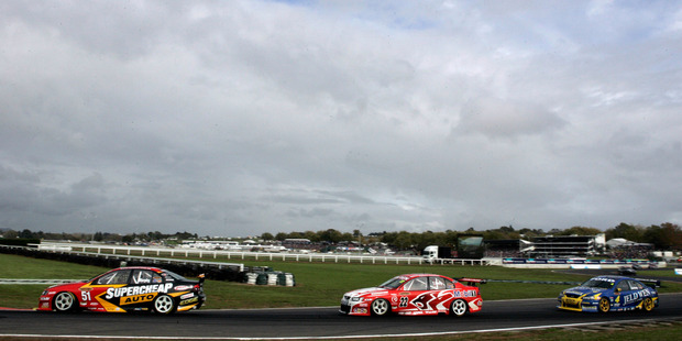 The estimated economic benefits of the V8s returning to Pukekohe are at best a guess and at worst a fantasy.  Photo / NZPA