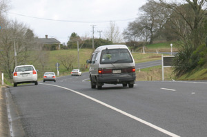 Plans to build a four-land expressway between Otaki and Levin have been scrapped in favour of an upgrade. Photo / NZ Herald