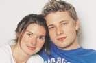 Jamie Oliver with wife Jools. File Photo / Supplied