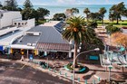 55 Clyde Rd, Browns Bay, has views to Rangitoto Island and the Coromandel Peninsula.