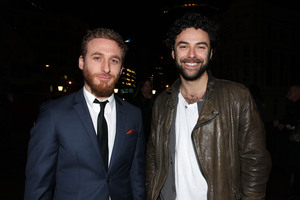 Dean O'Gorman and Aidan Turner. Photo / Getty Images