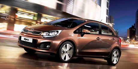 The all-new Kia Rio range has now been joined by a CRDi diesel. Photo / Supplied
