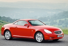 The Lexus SC 430. Photo / Supplied