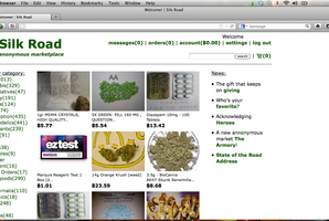 Silk Road has more than 2000 listings, including for drugs such as cocaine and cannabis. Photo / Supplied