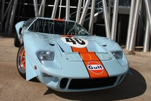 When Steve McQueen wanted a really quick camera car for his Le Mans movie, he used this Ford GT40, which goes up for auction next month. Picture /RM Auctions