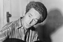 Woody Guthrie in the 1940s. Photo / Wikimedia Commons