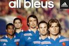 The new French rugby jersey launched by adidas. Photo / adidas