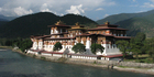 The Punakha dzong, where Bhutan's fifth king was married in 2011. Photo / Thinkstock