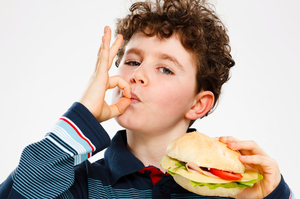 At mealtimes, French children eat what their parents serve them. Photo / Thinkstock