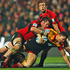 Richie McCaw tackles Sonny Bill during the Chiefs' round 17 loss to the Crusaders. Photo / Getty Images