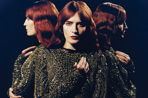 Florence Welch can't sing after feeling her voice 'snap'. Photo / Supplied