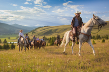 Visitors can engage in a vast selection of outdoor activities - including horseback riding - while staying at The Ranch at Rock Creek. Photo / Courtesy of The Ranch at Rock Creek